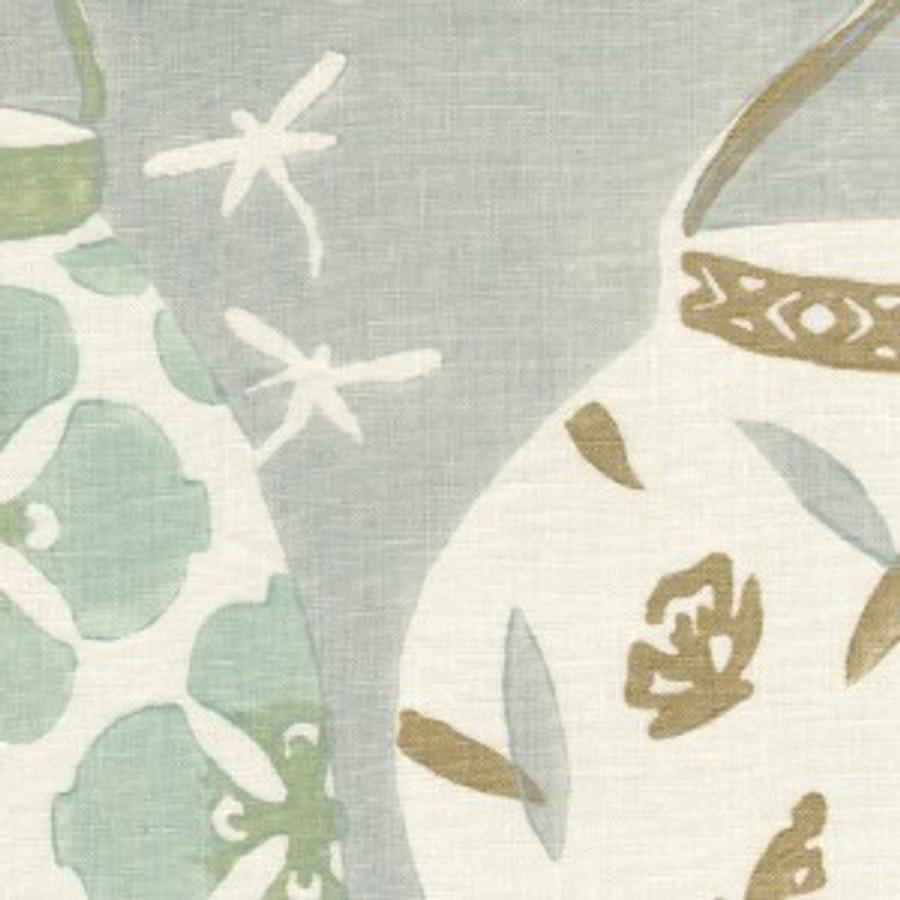 Galbraith & Paul Lanterns Light Mineral on Cream Linen