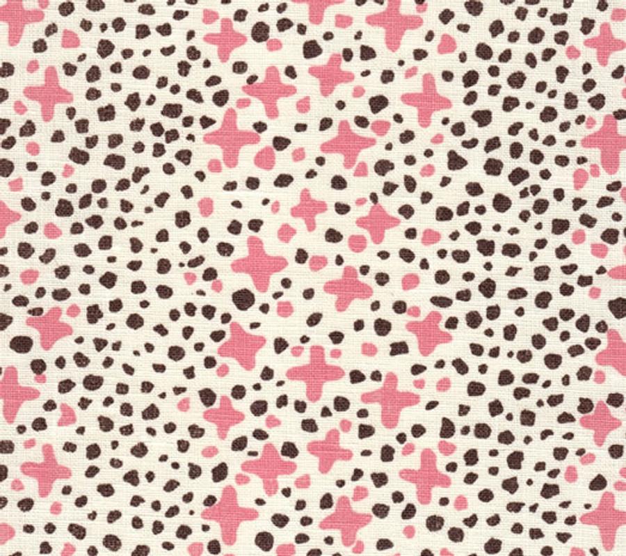 Jacks II Pink Brown Dots on Tint AC220-04