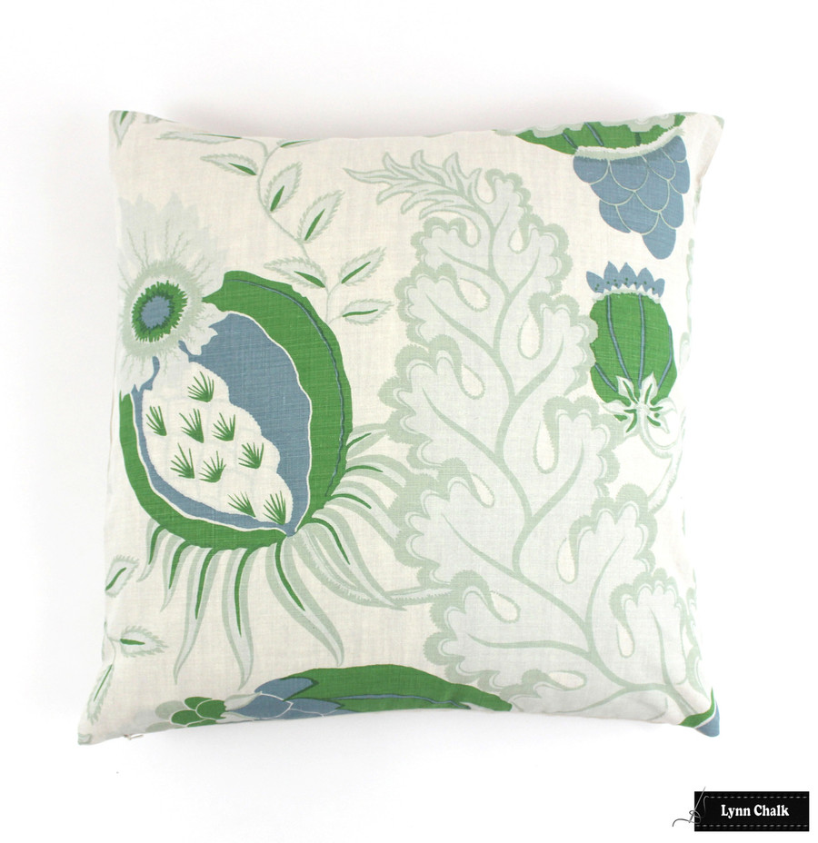 Christopher Farr Carnival Knife Edge Pillows (shown in Green-comes in several colors)