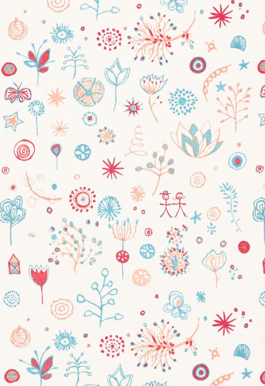 66240 Lulu DK Fabric Lollipop Punch Turquoise