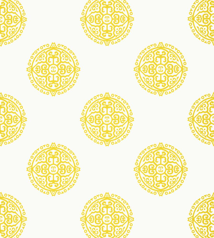 Halie Circle Yellow T36168