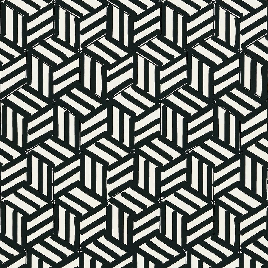 Tumbling Blocks Black 5007964