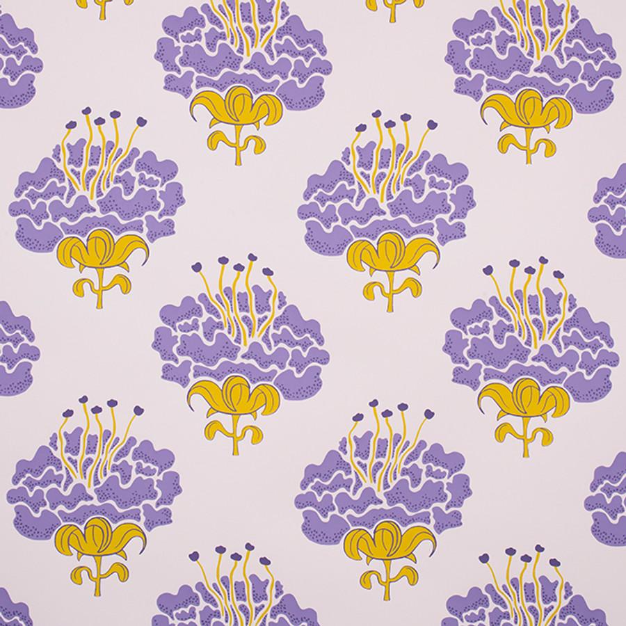 Katie Ridder Peony Wallpaper Purple