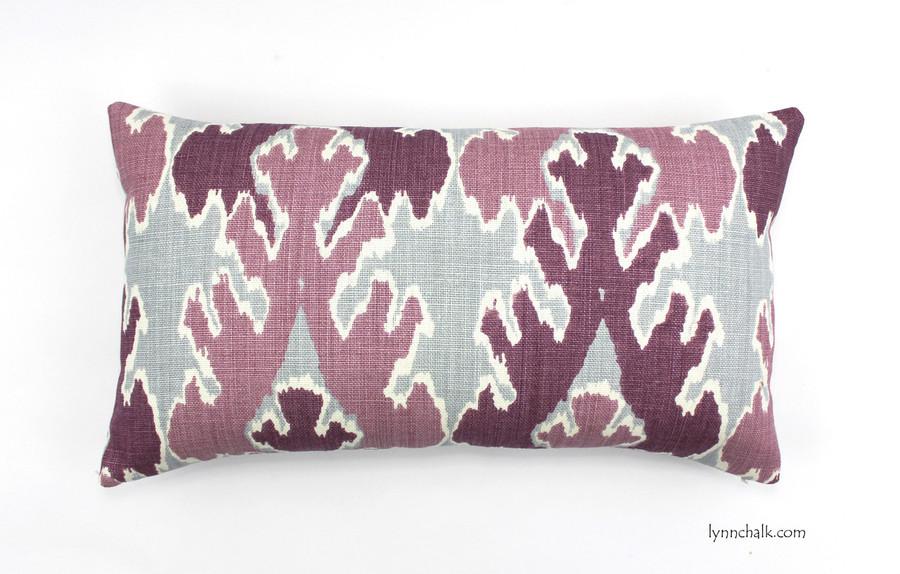 Kelly Wearstler Bengal Bazaar Pillow in Grey Indigo (comes in other colors) 2 Pillow MInimum Order