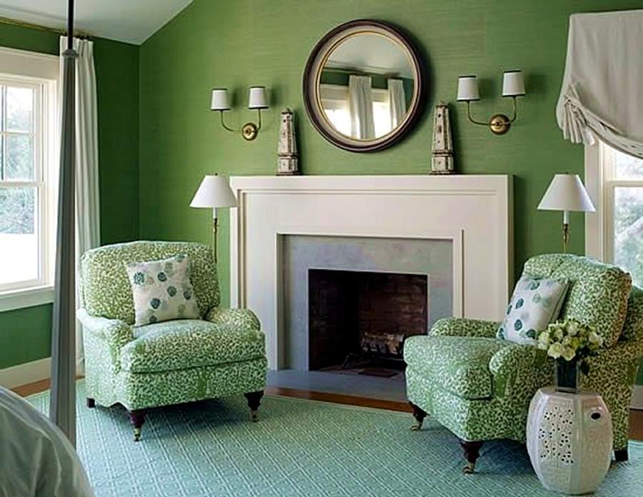 Quarille Arbre De Matisse Chairs Jungle Green (Meg Braff)