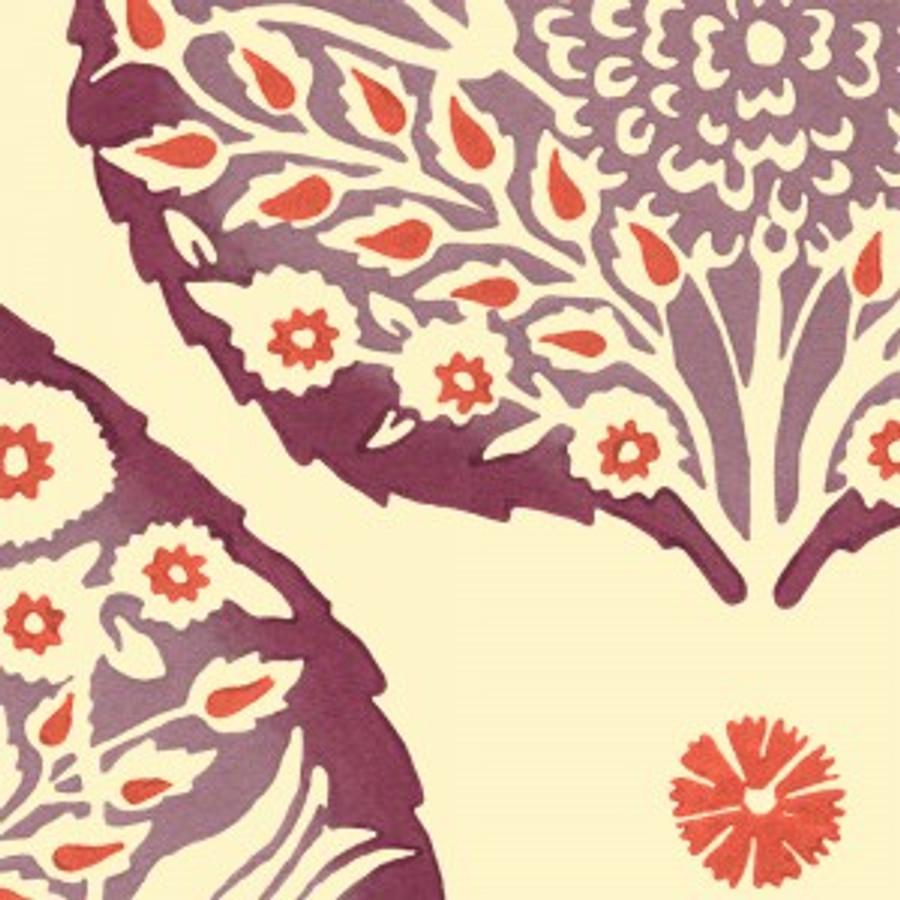 Lotus Wallpaper Plum