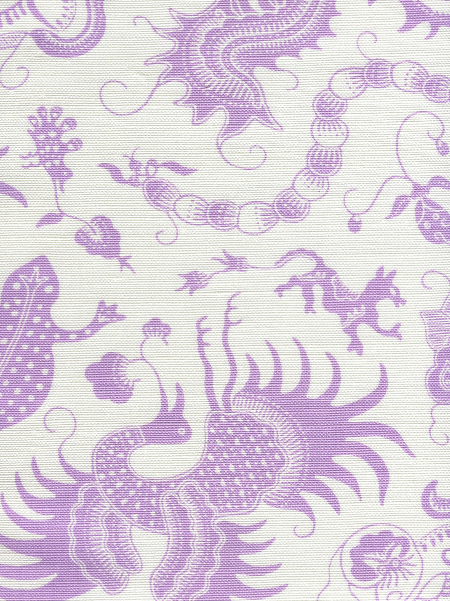 Indramayu Lavender on White 9005-02