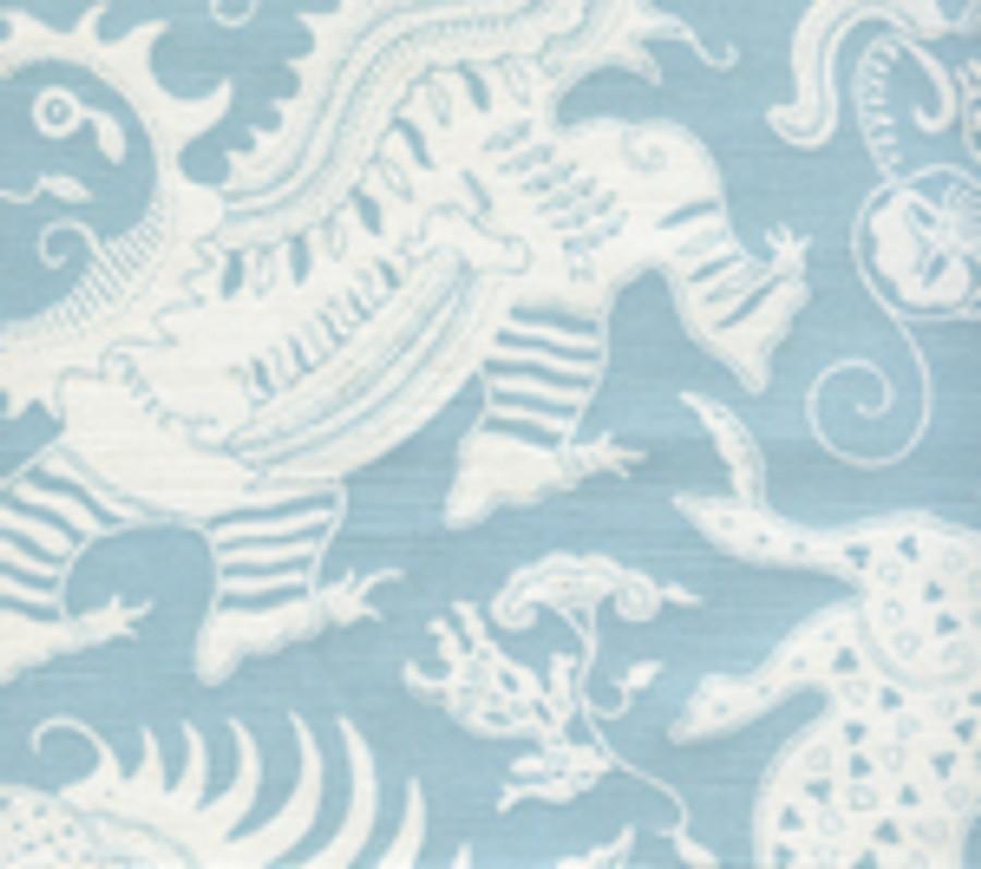 Indramayu Reverse Bali Blu on White 103-021
