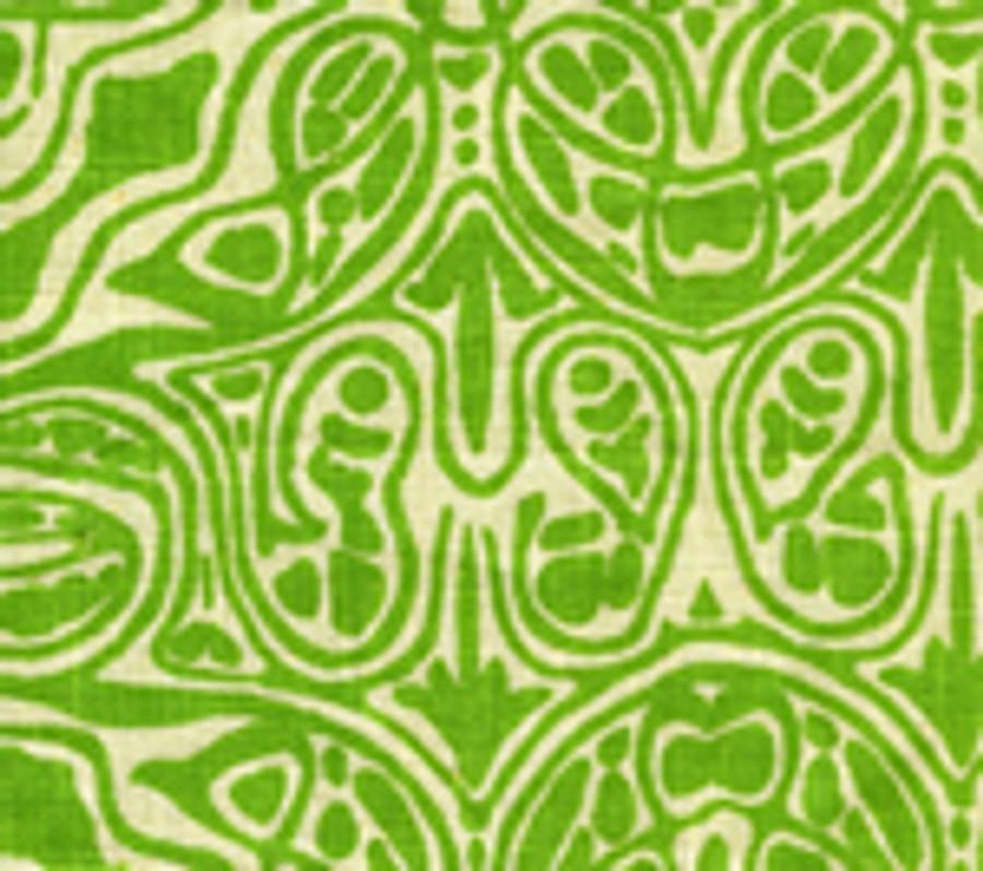 San Michele New Leaf on Beige-302256F