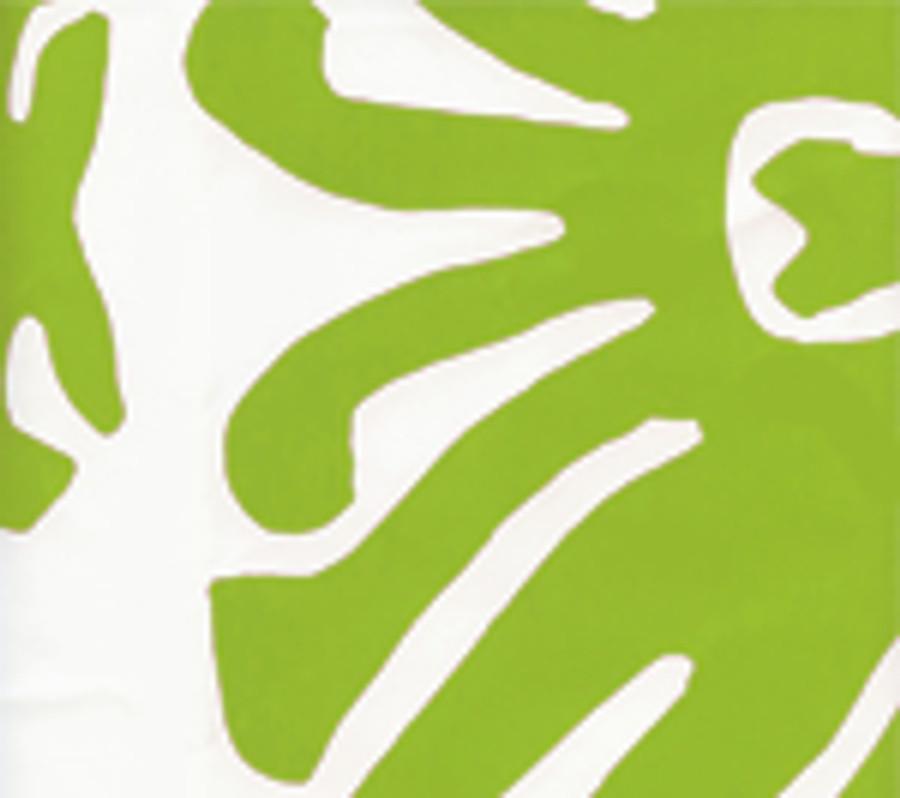 SIGOURNEY Jungle Green on White 2470-06WP