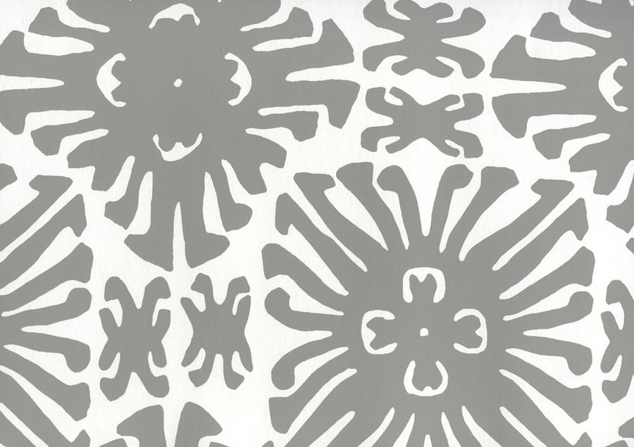 Sigourney Small Scale Grey on white 2475WWP 06