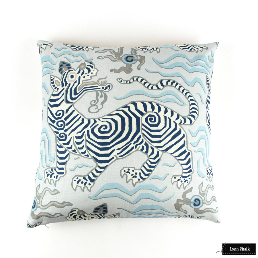 Pillow it Tibet Pale Blue 22 X 22
