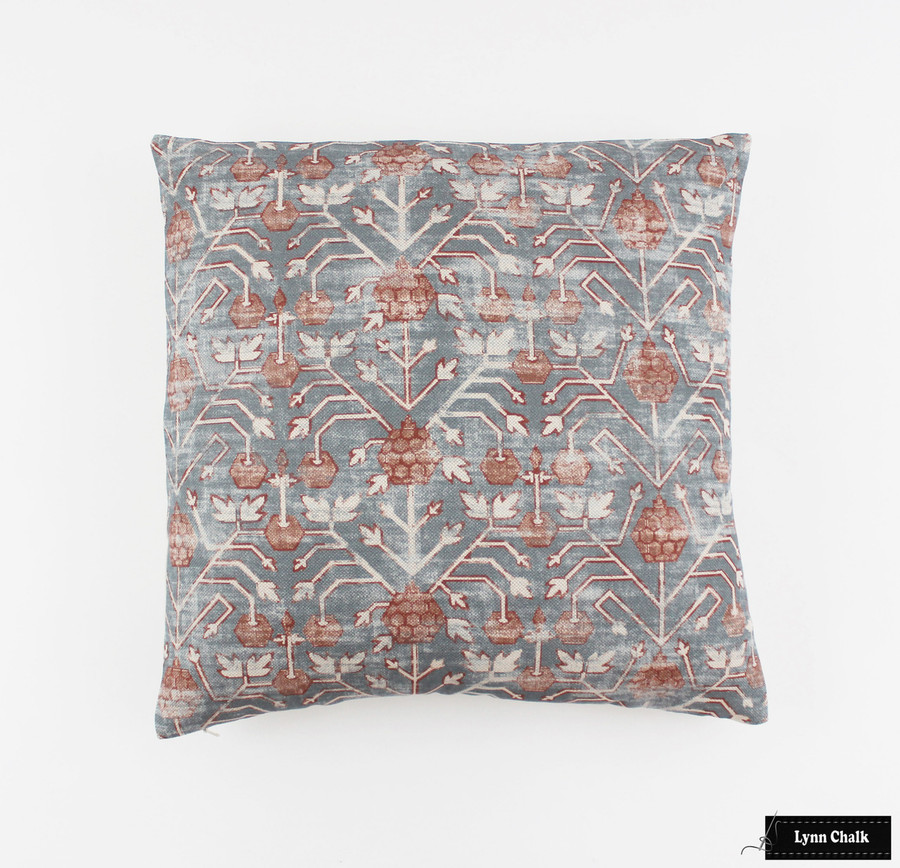 Pillow in Zak & Fox Khotan Rubio (18 X 18)