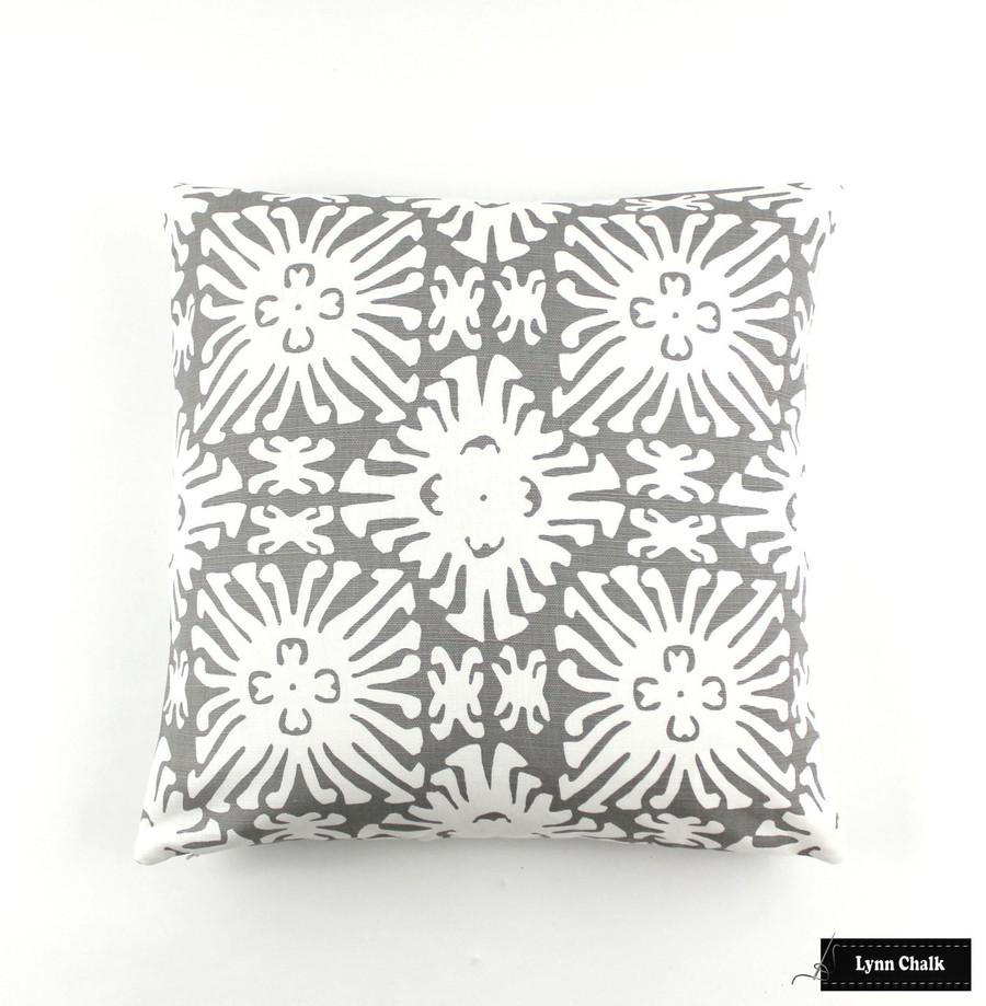Reverse Grey on White (18 X 18)