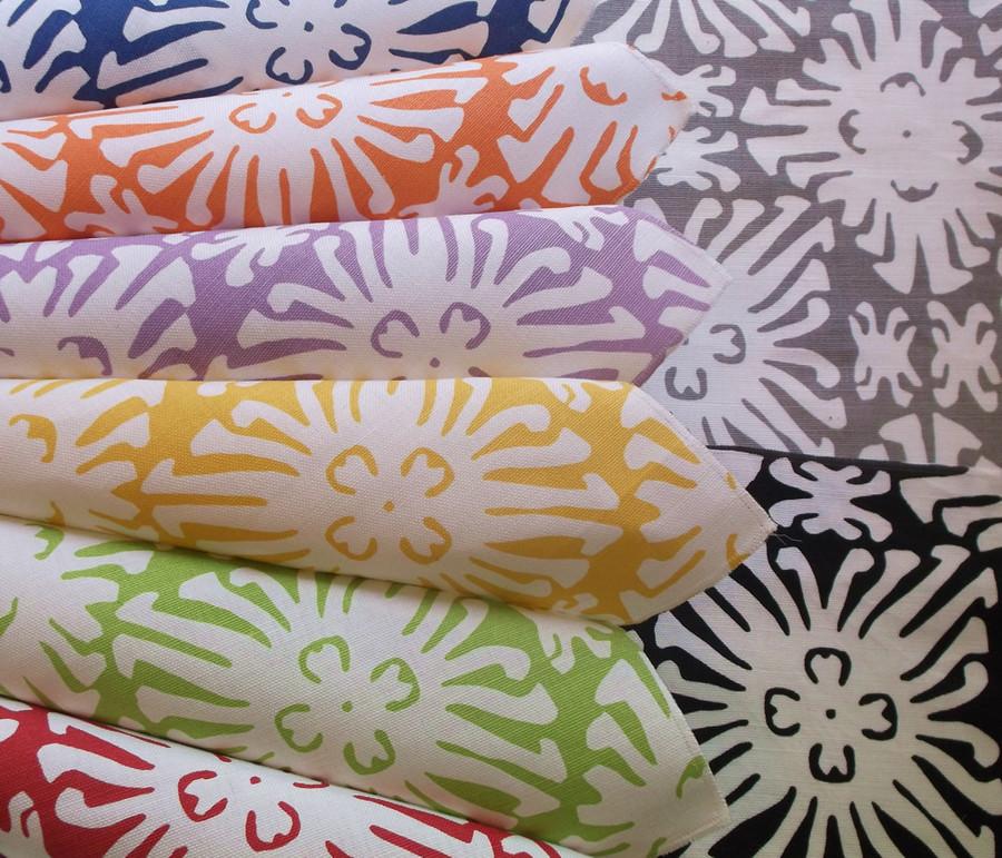 Sigourney Reverse Small Scale Fabric Colors