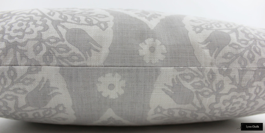 Galbraith & Paul Little Lotus Pillows (shown in Light Vapor on  Logan White-comes in several colors) Contact me To Order