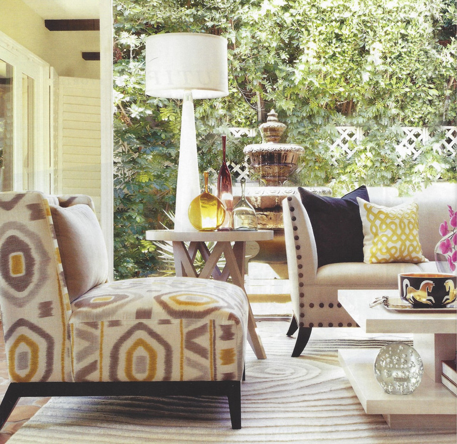 Chair in Thom Filicia Prospect in Shadow
