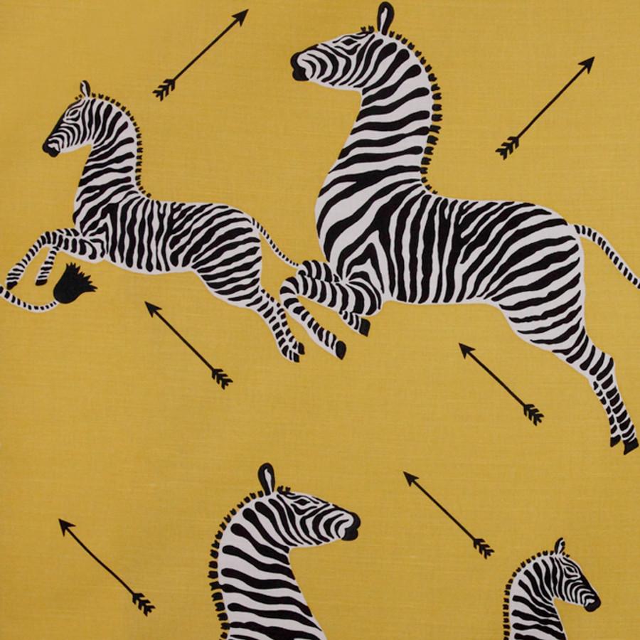 Scalamandre Zebras 36378-002 Yellow