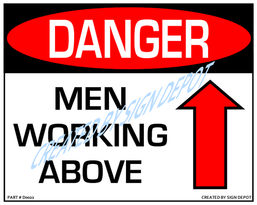 Danger pinch point use caution symbol sign order save print danger men working above with up arrow downloadable product never order sciox Gallery