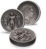 GLADIATORS Secutor 2 Oz Silver Coin 2$ Solomon Island 2017