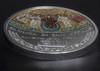 BASILICA SAN VITALE Mosaic Convex 1 Oz Silver Coin 5$ Cook Islands 2017 A