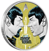 STAR TREK - MIRROR, MIRROR 1 oz Pure Silver Proof Coin Tuvalu 2017