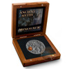 MINOTAUR - ANCIENT MYTHS - 2 oz High Relief Silver Coin with Brass Inlay 2017 Niue