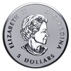 MAPLE LEAF TRIBUTE - 4 Coin Fractional set -1 oz, 1/2 oz, 1/4 oz, 1/10 oz Fine Silver Coins 2017 Canada