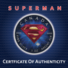 SUPERMAN SUIT - 1 oz Pure Silver Coin Color  2016 Canada