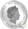 ALBA MADONNA RAPHAEL Perfection in Art 2 Oz Silver Coin 10$ Niue 2017