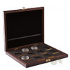 QUEEN'S BEASTS - WOODEN BOX For 10 x 2 oz Silver Coins  10 coins