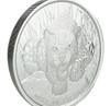 AFRICAN LEOPARD - 1 oz Silver Coin BU - 2017 Republic of Ghana