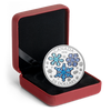 ICE CRYSTALS - WINTER SNOWFLAKES 2018 $20 1 oz Fine Silver Coin