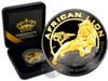 AFRICAN LION - Gold Black Empire 1 oz Silver Coin - 2017 Niue