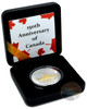 VOYAGER Canada's 150th Special Edition 1 oz Silver Gilded Coin 2017