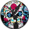 DIA DE LOS MUERTOS Day of the Dead Libertad 1 Oz Silver Coin Mexico 2017