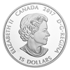 Glow-In-The-Dark Eyes $15 Silver Coin 2017 Canada w-In-The-Dark Eyes $15 Silver Coin 2017 Canada