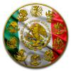 PATRIOTIC FLAG Libertad Liberty 1 Oz Silver Coin Mexico 2017