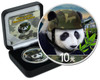 CHINESE PANDA - MILITARY EDITION - 2018 Silver Coin - Selective Color