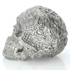 Skull of the Dead – 15 oz 3D Silver Statue – Unique Serial No.