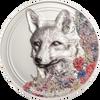 Woodland Spirits - Fox 500 Togrogs 1oz Silver Coin - Mongolia 2018