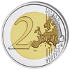 Easter Colored Coin 2 EURO with OGP 2018