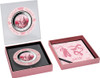PIG Mother of Pearl Lunar Year Series 5 Oz Silver Coin 25$ Cook Islands 2019
