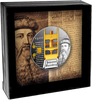 DEATH OF JOHANNES GUTENBERG 550th Anniversary Silver Coin 1$ Niue 2018