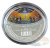 Giovanni in Laterano Mosaic CONVEX Silver $5 Cook Islands 2014