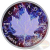 1oz Maple Leaf Hologram~Magic~Ag .9999 $5 CA 2014
