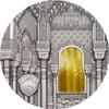 Palau 2015 $10 TIFFANY ART Nasrid Style 2 Oz .999 Silver Coin