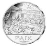 "ASTERIX & OBELIX ""Peace""- 50€ silver coin France 2015"
