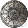 2015 ZODIAC  MEMENTO MORI Rimless HR Antique Silver 1oz