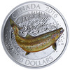 CANADIAN SALMONIDS: Atlantic Salmon  2016 $20 1 oz Fine Silver Coin